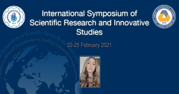 Faculty Member Canan Gülcan Presented her Work at an International Symposium