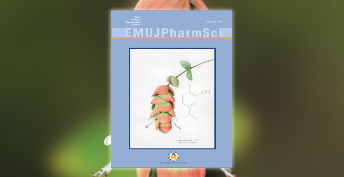 New Issue of EMU Journal of Pharmaceutical Sciences (EMU JPharmSci) is published